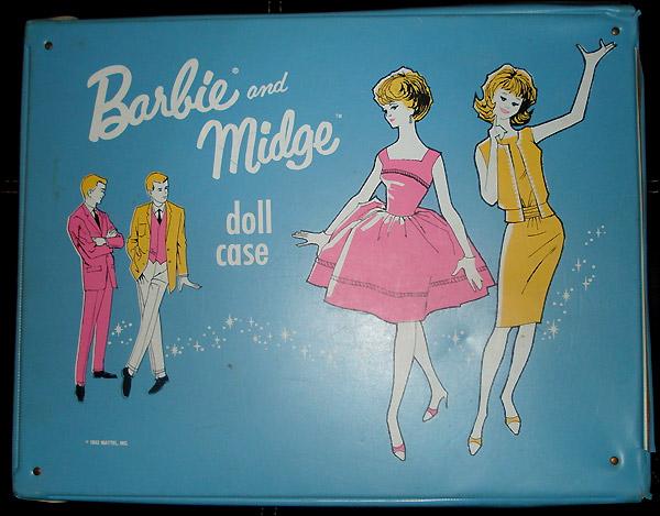 Переноска-чемоданчик Барби и Мидж