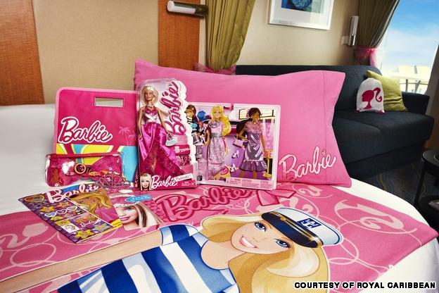 Круиз Барби интерьеры Royal Caribbean