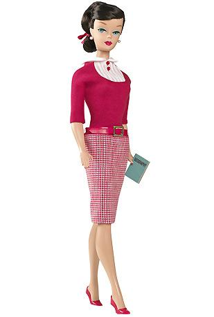 Коллекционная кукла Барби учительница