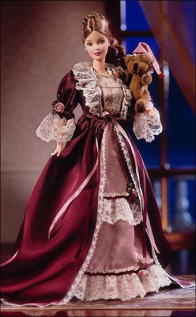 Коллекционная кукла Барби викторианская