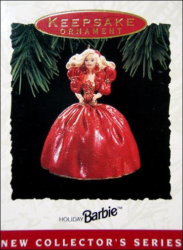 Елочная игрушка Барби Холлмарк