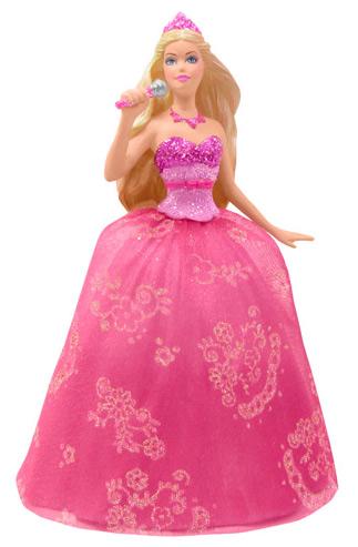 Барби Принцесса и Поп Звезда елочная игрушка
