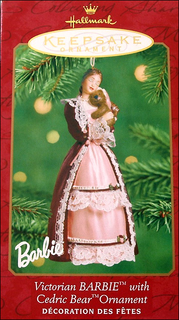 Елочное украшение из фарфора Барби Hallmark