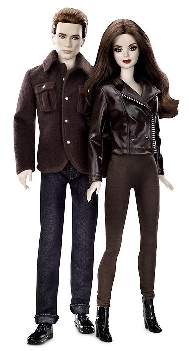 Сет коллекционных кукол Эдварда и Беллы из Сумерек