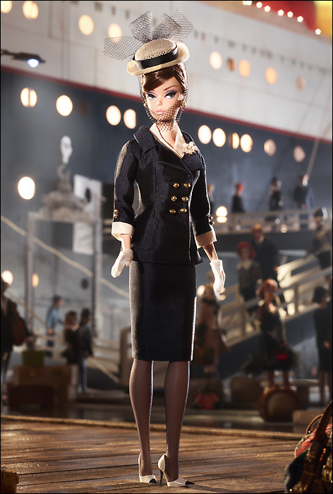 Новинка 2013 — клубный эксклюзив: Boater Ensemble Barbie