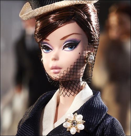 новинка 2013 коллекционная кукла Силкстоун Барби