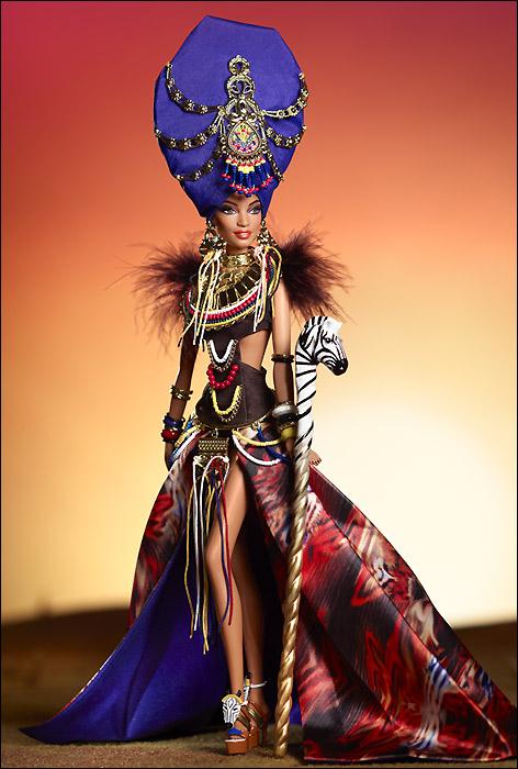 Коллекционная кукла Барби новинка 2013 Tribal Beauty Barbie