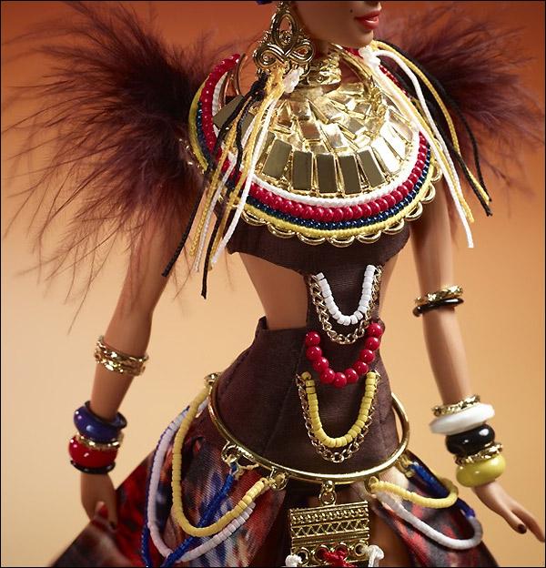 новинка Барби коллекционная Tribal Beauty Barbie 2013