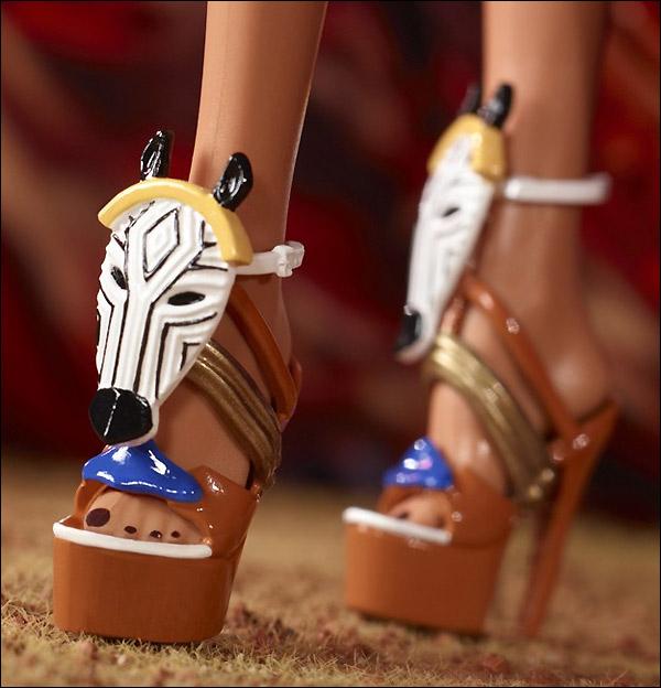 Обувь Барби Tribal Beauty Barbie 2013