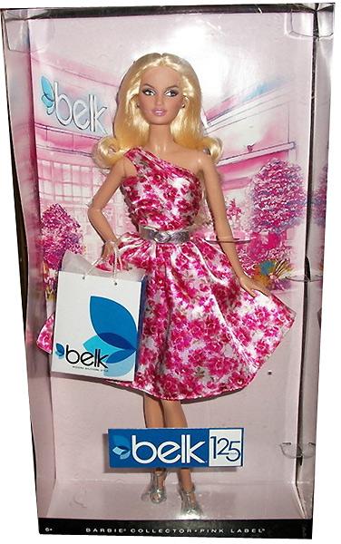 Коллекционная кукла Барби Belk Anniversary