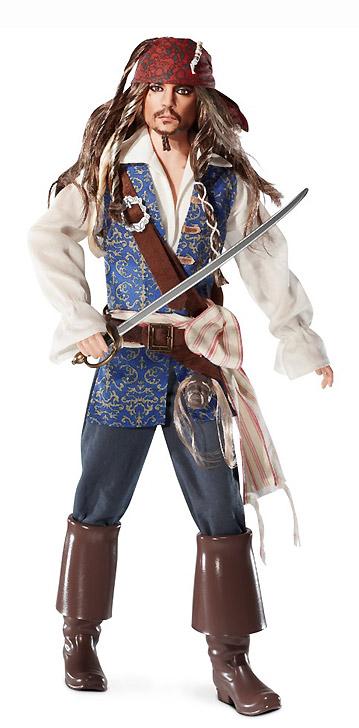 Коллекционная кукла шарнирный кен Джонни Депп