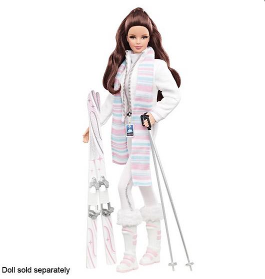 Одежда для коллекционных Барби-моделек Winter Weekend