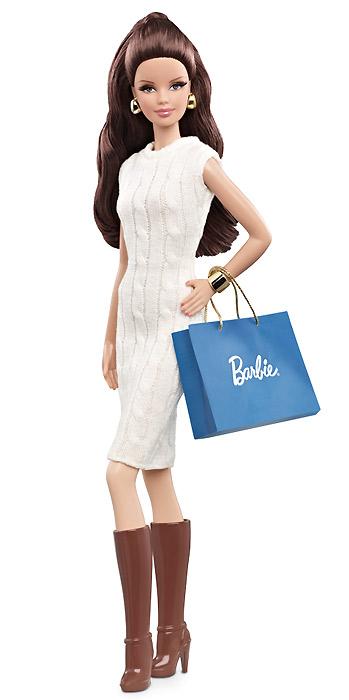 Новая кукла 2013 Коллекционная Барби City Shopper Barbie брюнетка