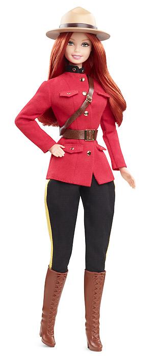 Коллекционная Барби новинка 2013 куклы мира Канада