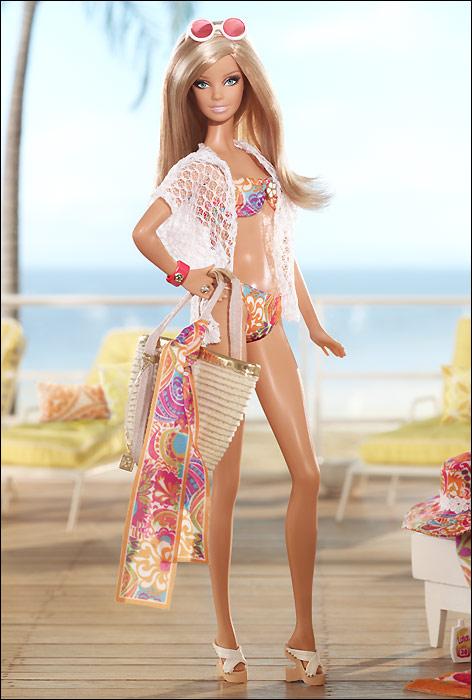Коллекционная Барби в купальнике от Трины Терк Trina Turk 2013