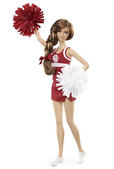 Коллекционная кукла Барби новинка 2013 чирлидер