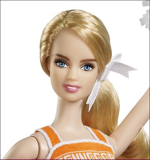 Коллекционная кукла Барби 2013 года новинка университет Теннесси