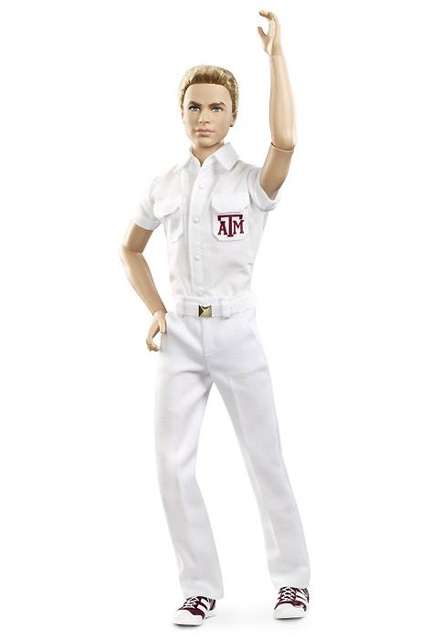 Новинка 2013 года кукла Кен шарнирный болельщик чирлидер