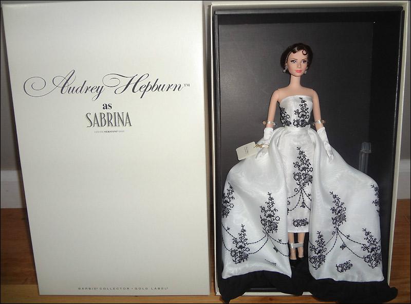Живые фото Барби Одри Хэпберн Сабрина 2013
