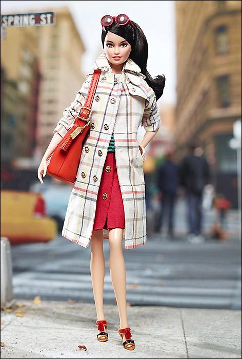 Новинка Барби коллекционная Coach Barbie с кожаной сумкой