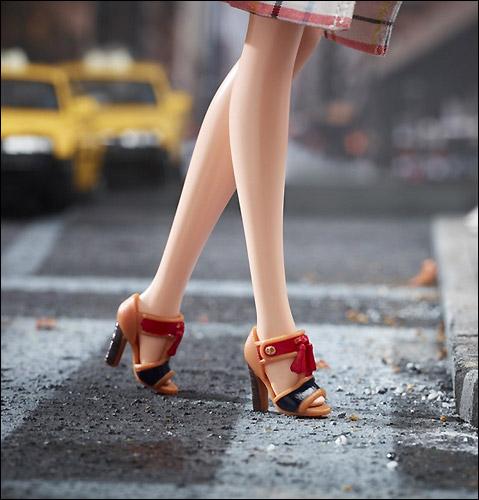 Кожаные туфли Coach миниатюра для Барби