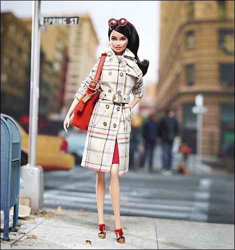 Коллекционная кукла Coach Barbie 2013 новинка