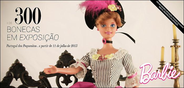 Выставка кукол Барби в Португалии
