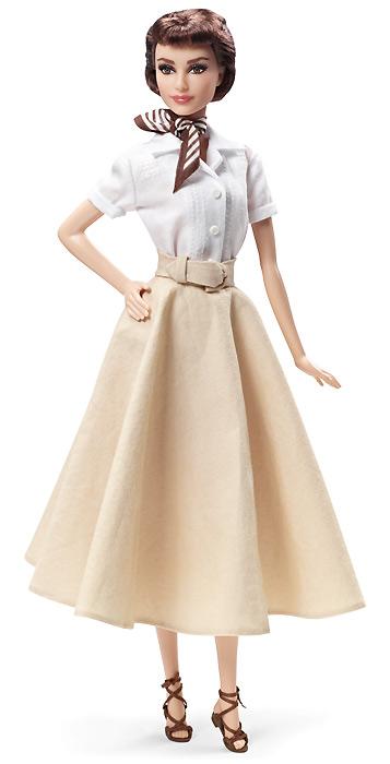 Audrey Hepburn in Roman Holiday: портретная новинка-2013