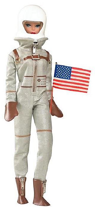Коллекционная кукла Барби астронавт 2009