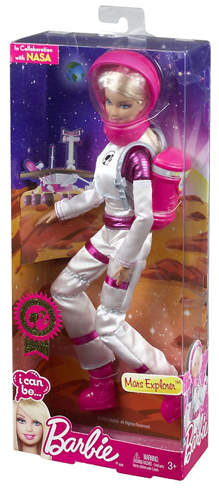 Barbie I Can Be Mars Explorer: совместный проект Mattel и NASA