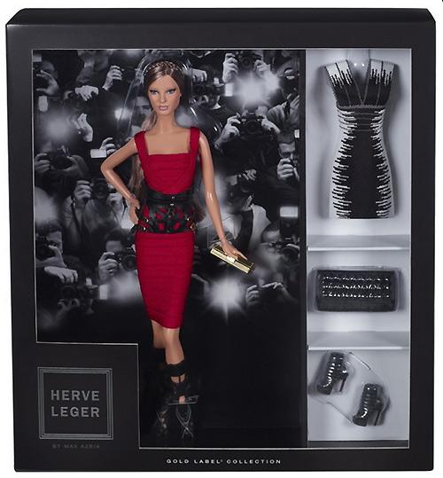 Коллекционная новинка осени-2013: Herve Leger by Max Azria Barbie