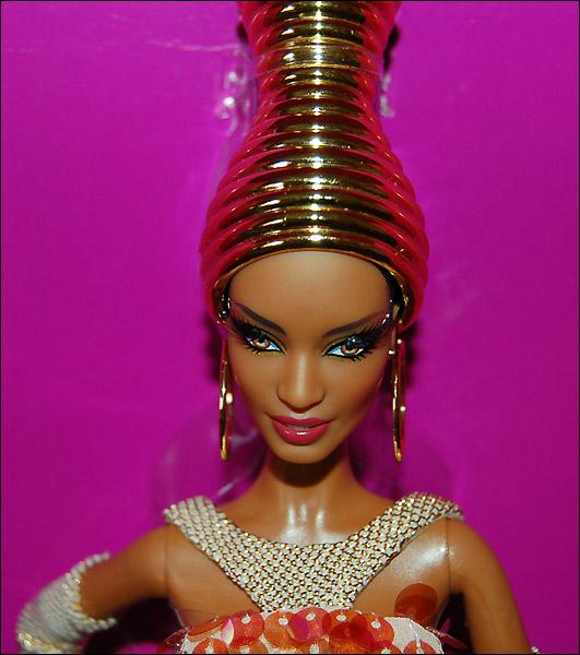 Коллекционная кукла Барби Stephen Burrows Alazne Barbie 2013 - живые фото
