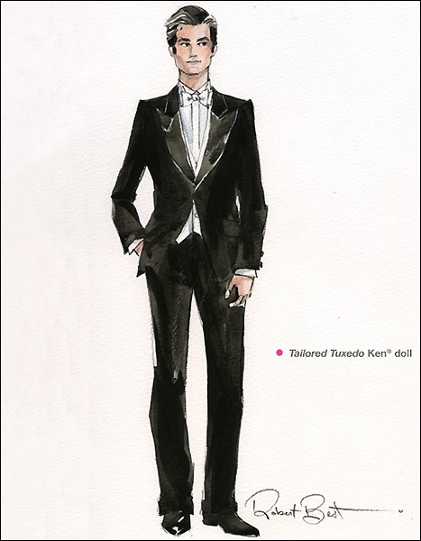 Клубный Кен Силкстоун Tailored Tuxedo Ken