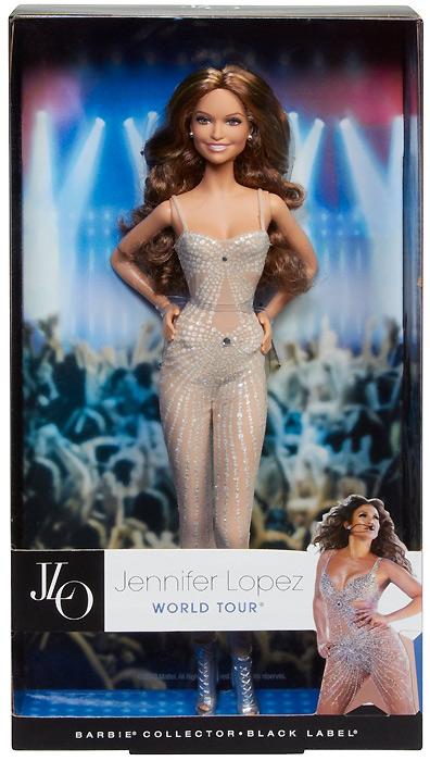 Коллекционная кукла Барби Дженнифер Лопес 2013 в коробке