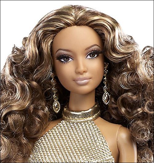 Коллекционная кукла Барби 2014 Золотое Платье