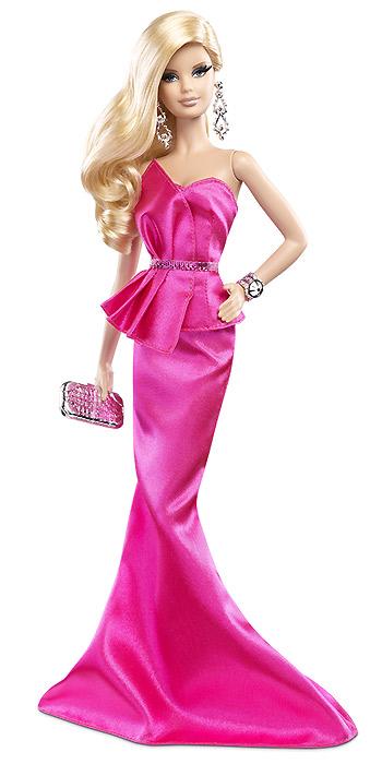 Коллекционная кукла Барби новинка 2014 Барби Розовое Платье