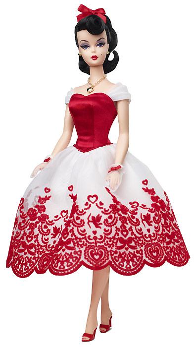 Новинка 2014 коллекционная кукла Cupid's Kisses Barbie