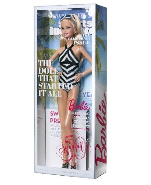 Живые фото коллекционной куклы Барби 2014 Sports Illustrated Swimsuit Barbie