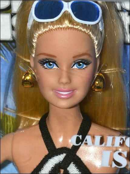 Живые фото коллекционной куклы Sports Illustrated Barbie 2014