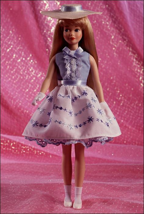 Коллекционная кукла Скиппер фарфоровая