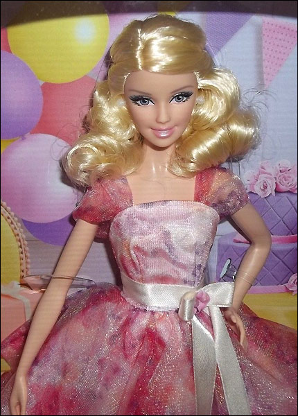 Коллекционная кукла Барби Пожелания День Рождения 2014 живое фото новинки 2014