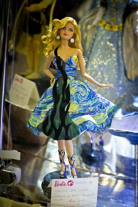 Кукла Барби Vincent Van Gogh Barbie живое фото