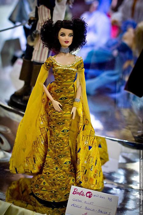 Barbie inspired by Gustav Klimt коллекционная кукла из Музейной коллекции