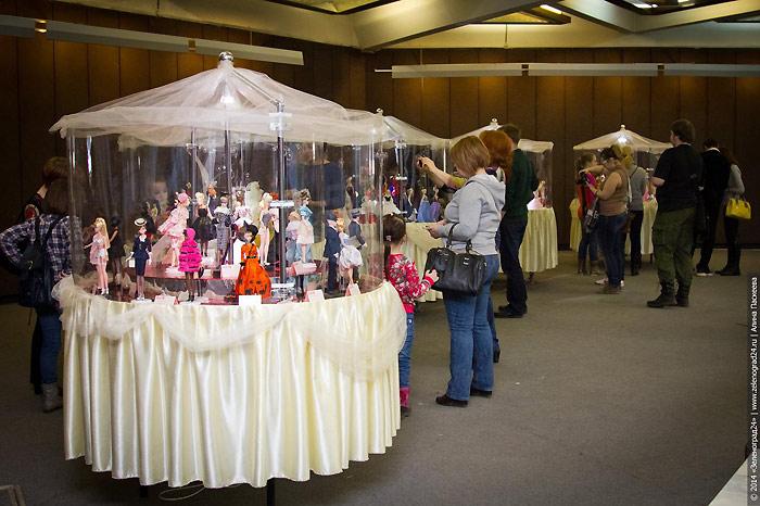 Почти как сон. В марте 2014 в Зеленограде прошла большая выставка кукол Барби