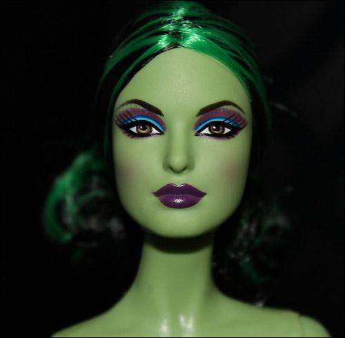 Живые фото куклы Барби Злая Волшебница Запада Гламур Fantasy Glamour Wicked Witch of the West