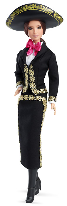 Коллекционная кукла Mexico Barbie новинка 2014