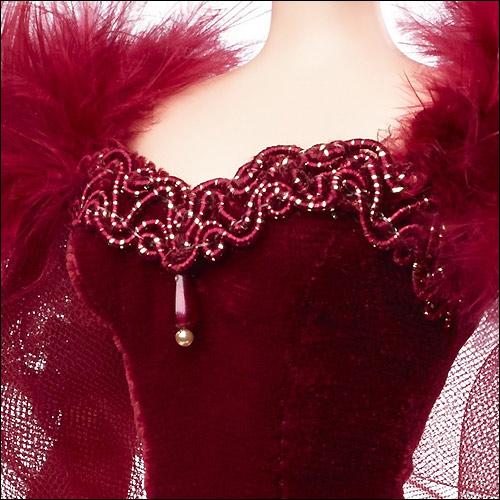 Коллекционная кукла Scarlett O Hara Red Dress Gone With The Wind новинка 2014