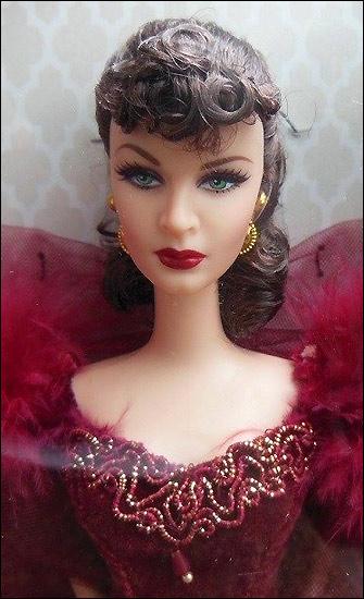Кукла Барби Вивьен Ли Скарлетт О Хара живое фото Scarlett O Hara Barbie 2014