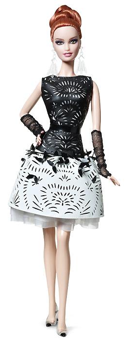Laser-Leatherette Dress Barbie 2014: платиновый клубный эксклюзив