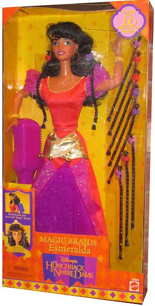 Большая кукла Эсмеральда Маттел
